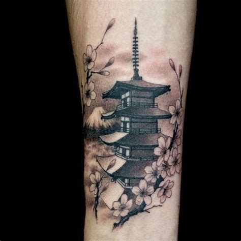 temple tattoo pin japanese pagoda pictures to pin on tattooskid