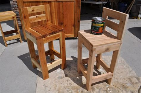 outdoor wood bar stool plans woodworking projects plans