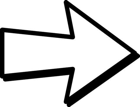 arrow templates free my arrow clip at clker vector clip