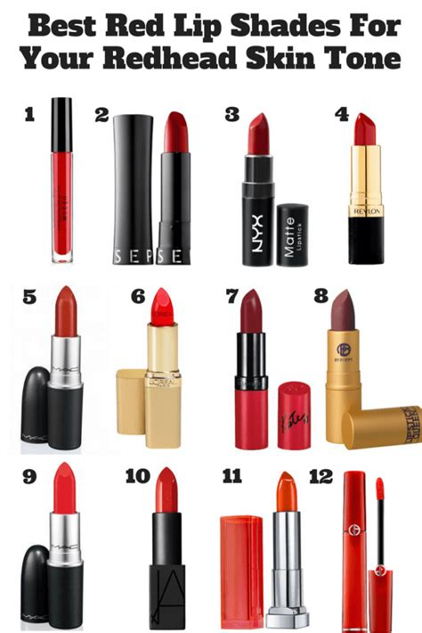 best shade of red best red lip shades for your redhead skin tone
