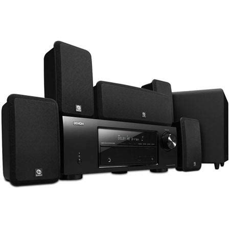 denon dht 1513ba 650w 5 1 channel home theater sys dht 1513ba