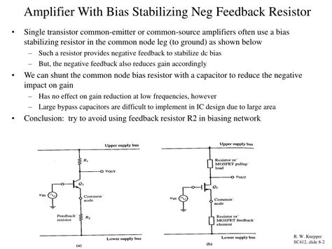 feedback resistor network ppt differential lifiers chapter 8 in horenstein powerpoint presentation id 162450