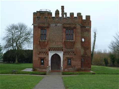 rye house rye house gate house hoddesdon herts uk preserved architectural remnants and
