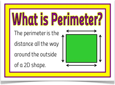printable area and perimeter posters area and perimeter treetop displays a set of 8 a4
