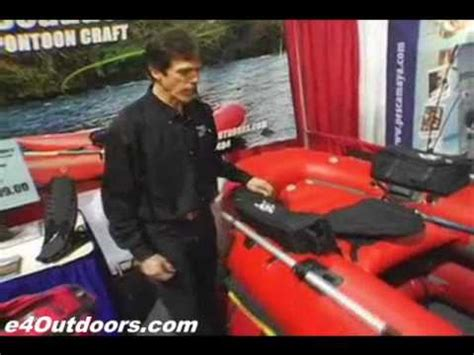 north fork pontoon boats frameless pontoon boat from north fork outdoors youtube