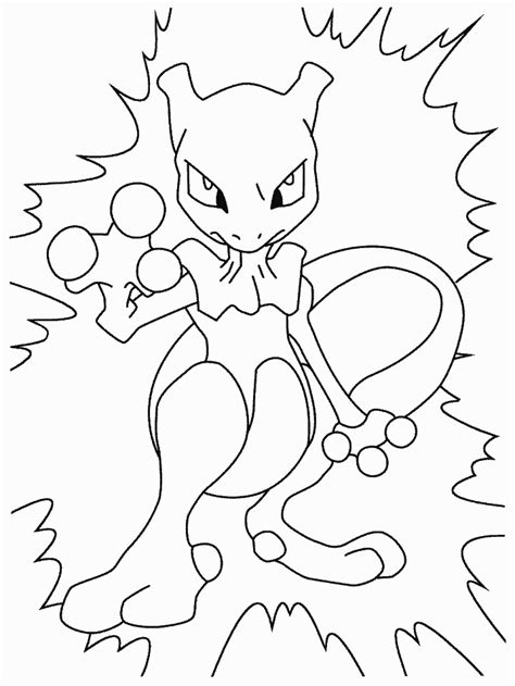 mewtwo coloring pages coloring home