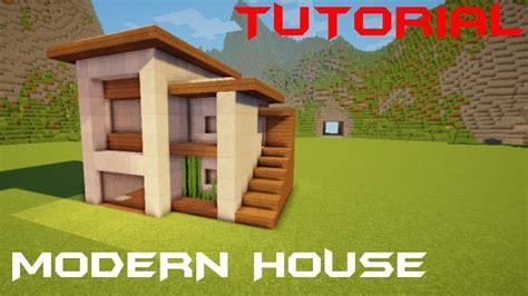 youtube membuat rumah minecraft tutorial cara membuat rumah modern kecil 4