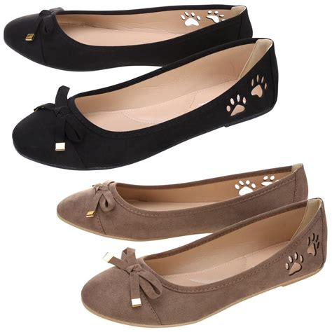 Cutout Flats cutout paw ballerina flats the animal rescue site
