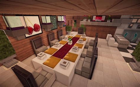 minecraft interior design jade modern minecraft kitchen table minecraft