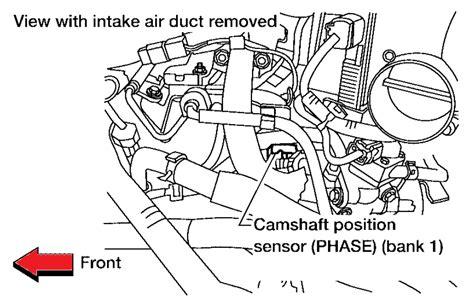 p0340 nissan xterra p0340 2004 nissan maxima camshaft position sensor circuit