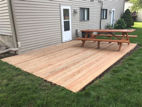 how to level a house tips ground level deck home depot build a deck stand