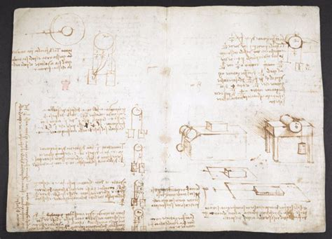 british library  fully digitized  pages  leonardo da vincis visionary notebooks