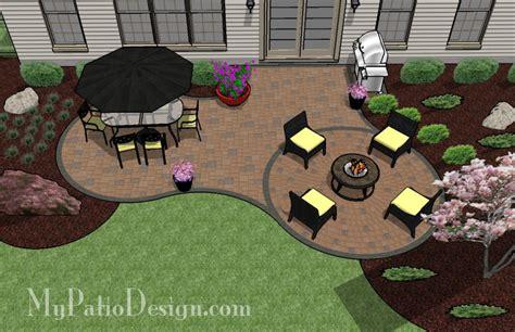 simple curvy patio tinkerturf