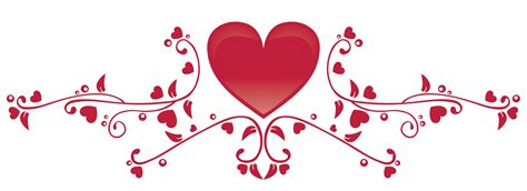 Wedding Border Hearts by Design Clipart With Rays And Banner Icons Png