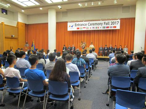 Mba For Student With Not Alot Of Experience by 2017 Fall Entrance Ceremony Hosei Global Mba