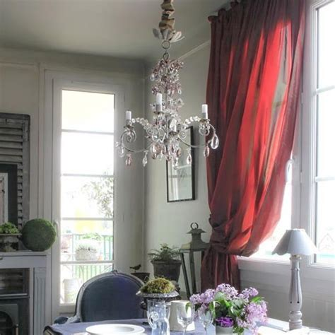 french style dining room decorating ideas  gray  red