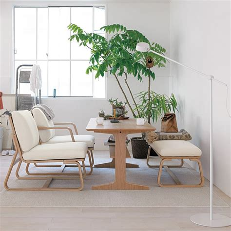 quot living dining quot chair and table from muji living room