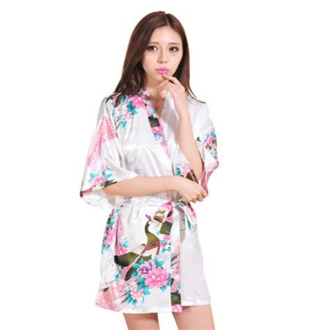 kimono nightgown pattern compare prices on kimono robe silk online shopping buy