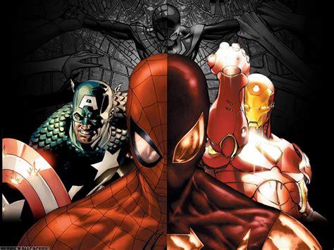 Tas Iron Captain America Marvel Costom Modif Army Balap Racing spider iron captain america hd wallpaper anime wallpaper better