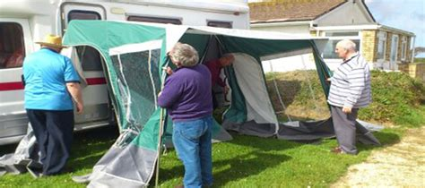 motorhome awnings australia useful tips to prevent damage to your caravan awning australia wide annexes