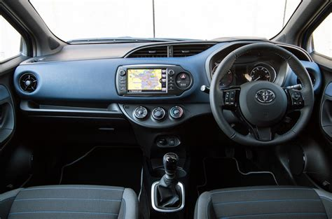toyota yaris interior toyota yaris review 2017 autocar
