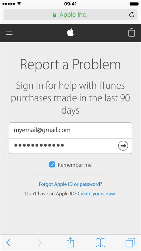 Report A Problem by How To Request An App Store Refund Directly From Your Iphone