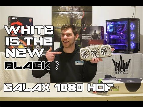 galax 1080 hof vs. founder's edition | benchmarks & ove