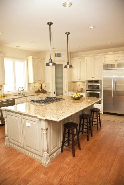 beautiful kitchens  white cabinets  modern