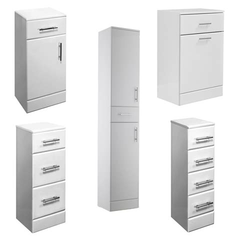 white bathroom storage drawers white gloss bathroom vanity storage cabinets drawers
