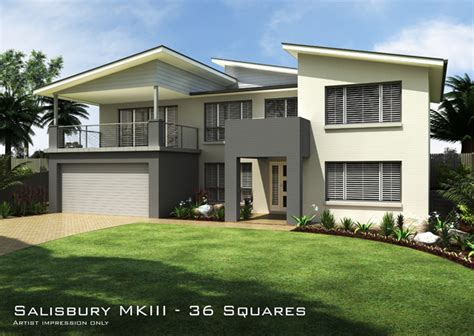 salisbury mkiii skillion roof home design tullipan homes
