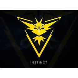 Instinct Pokemon Go Team Logo Vector Download By Meritt Thomas
