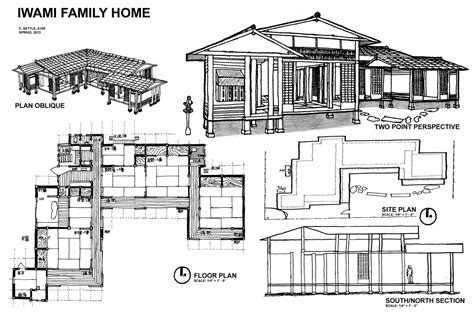 Asian House Plans House Plans And Design Modern Japanese House Floor Plans
