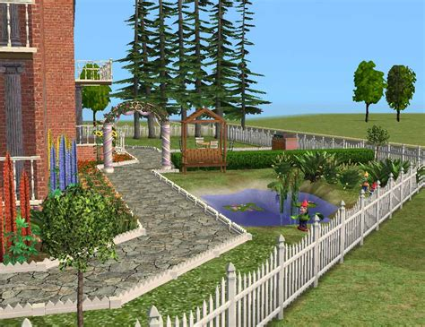 Sims 3 Garden Ideas The Sims 2 Mansion Garden 3 Changebertyl