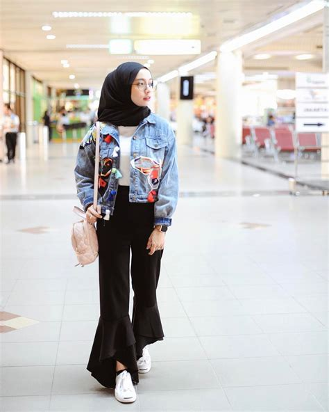 Jacket Wanita Parka Kanvas 2 10k likes 49 comments erlinda yuliana joyagh on instagram before flight wearing jacket
