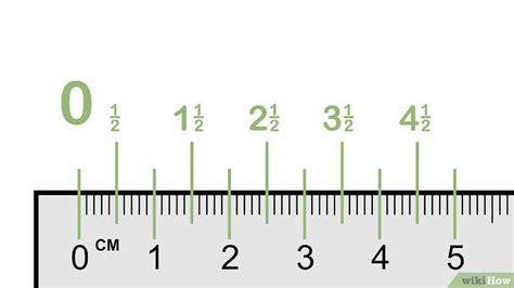 figuras de reglas en pulgadas sin centimetros c 243 mo leer una regla 10 pasos con fotos wikihow