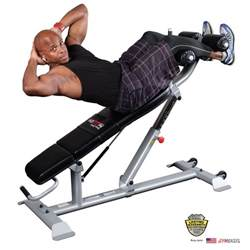 How To Use An Ab Bench - 2017 new body solid sab500 commercial ab crunch bench