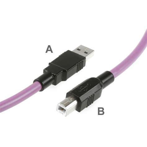 Kabel Usb 2 usb kabel f 252 r schleppketten usb 2 0 montagekabel