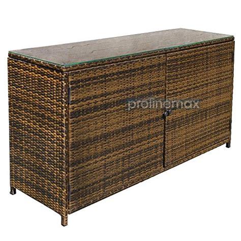 outdoor wicker tv cabinet espresso 59 wicker rattan buffet serving cabinet table