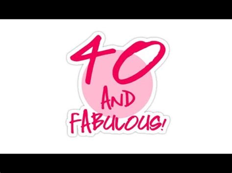 pink 40yeras old happy birthday 40 years old youtube