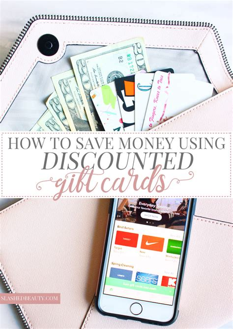 Buy Partially Used Gift Cards - how to save money using discounted gift cards slashed beauty