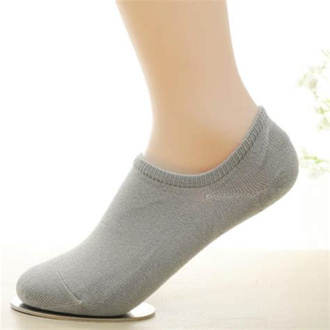Non Slip Invisible Socks 5 pairs mens loafer boat non slip invisible no show socks