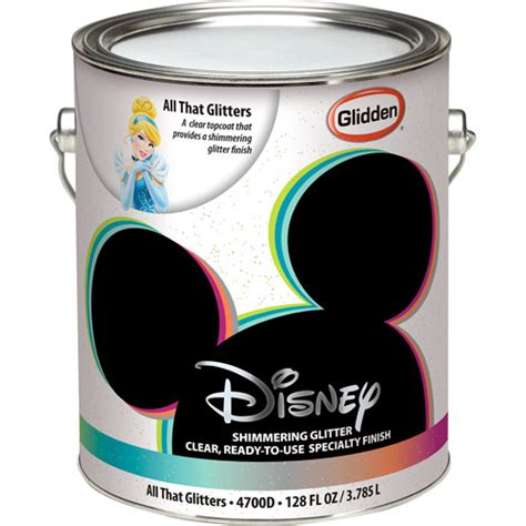 Walmart Interior Paint by Disney All That Glitters Interior Specialty Paint 1