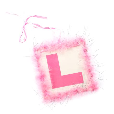 Pink L by Pink Feather L Plate With Silver Tinsel 163 1 99 50 In