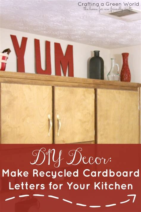 Upcycled Kitchen Ideas diy kitchen ideas to decorate for less
