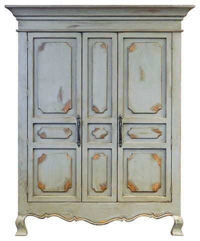 armoires and more dallas 2 door antique grey tv armoire wardrobes and armoires by million dollar rustic