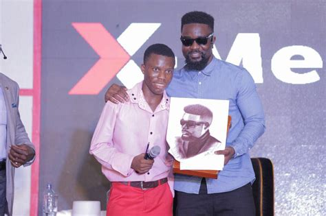 Mr Gives Away His Novel by Sarkodie Discussed His Brand Tracy Sarkcess And More At