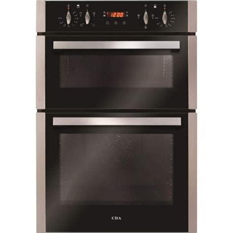 range with built in fan buy cda dc940ss electric built in fan double oven with
