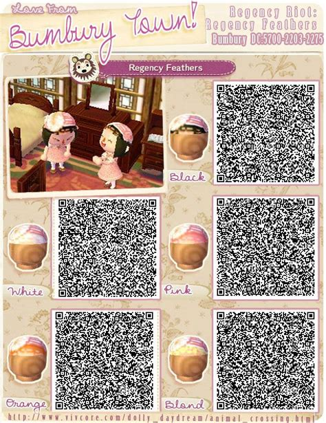 animal crossing new leaf hair in braid 13 best animal crossing new leaf qr codes hats images on