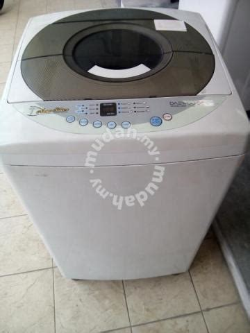 Mesin Cuci Washer Dryer washing machine daewoo mesin cuci secondhand home