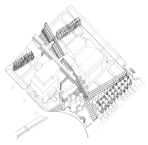 Medieval Floor Plans by Ad Classics Wexner Center For The Arts Peter Eisenman